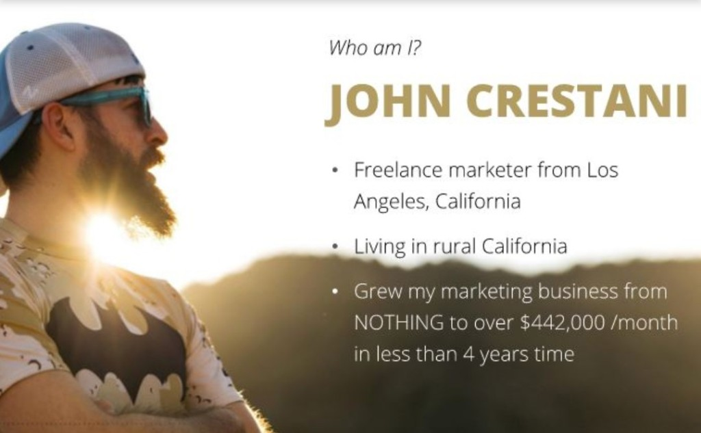 John Crestani Reviews 2020 is he a scam?